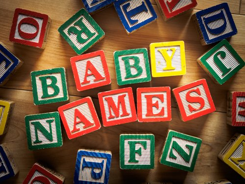 Hot Baby Names: 9 Trends of 2015 - Star Kids Products