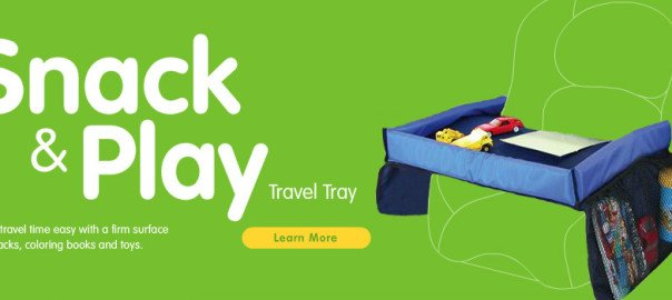 Snack & Play - Car Travel Accessories for Kids - StarKids Products
